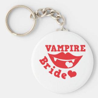 novia del vampiro llavero redondo tipo pin