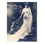 Novia del Victorian Tarjetas Postales