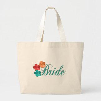 Novia elegante bolsas de mano