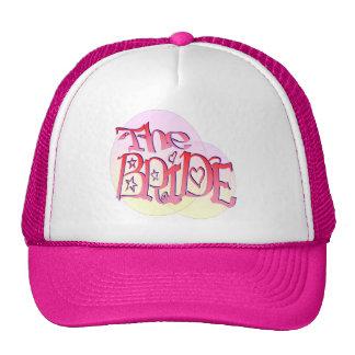Novia en el casquillo del proyector (1) gorras