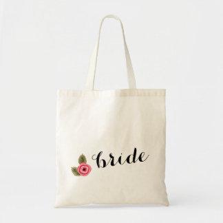 NOVIA floral de Whismy - la bolsa de asas del boda