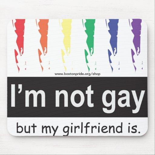 Novia gay Mousepad