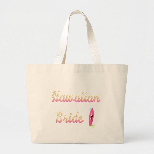 Novia hawaiana bolsa de mano