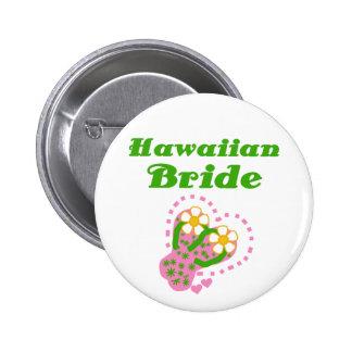 Novia hawaiana pins