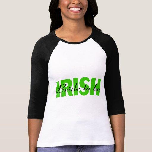 Novia irlandesa a ser playera