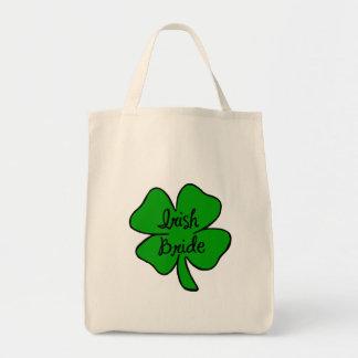 Novia irlandesa bolsa tela para la compra