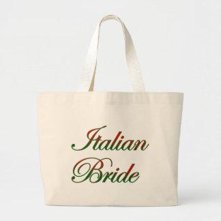 Novia italiana elegante bolsas