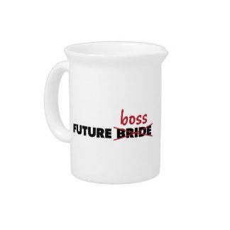 Novia/jarra futuras de Boss