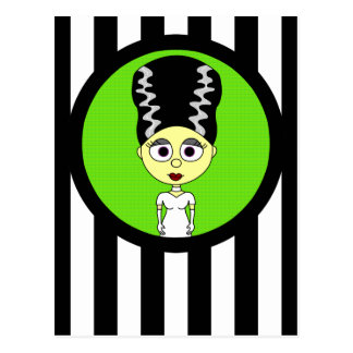 Novia linda de Frankenstein Tarjetas Postales