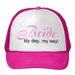 Novia (mi día, mi manera!) gorras