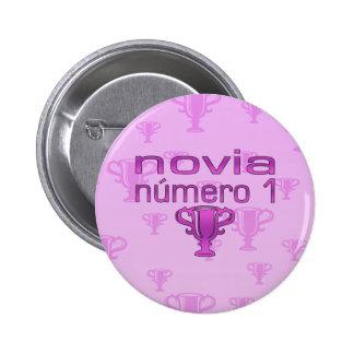 Novia Número 1 Button