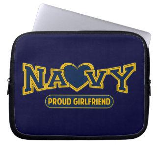 Novia orgullosa de la marina de guerra mangas computadora