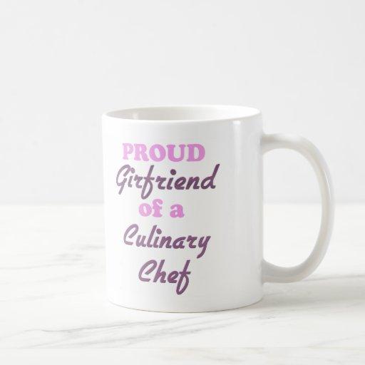 Novia orgullosa de un cocinero culinario taza