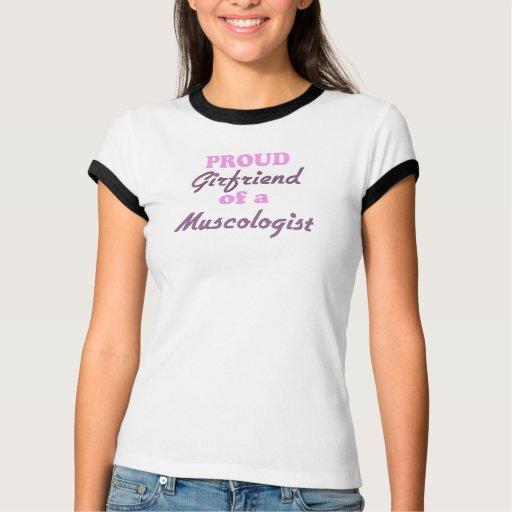 Novia orgullosa de un Muscologist T-shirts