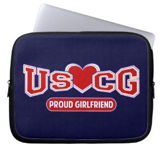Novia orgullosa de USCG Fundas Ordendadores