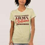 Novia orgullosa del ejército camiseta