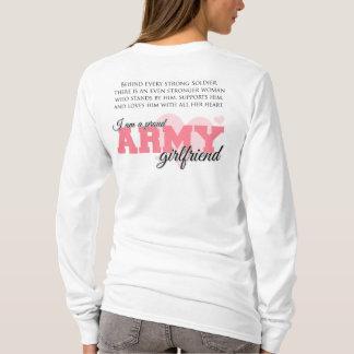 Novia orgullosa del ejército playera