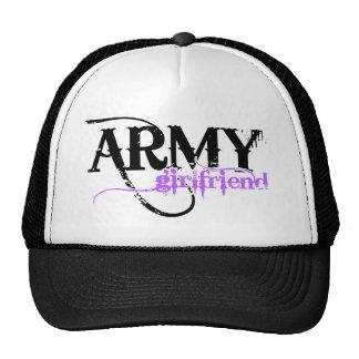 Novia púrpura del ejército gorras