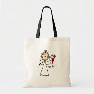 Novia que lanza el bolso del ramo bolsas