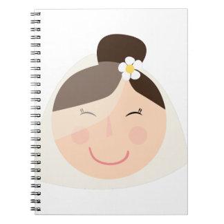 Novia Spiral Notebook