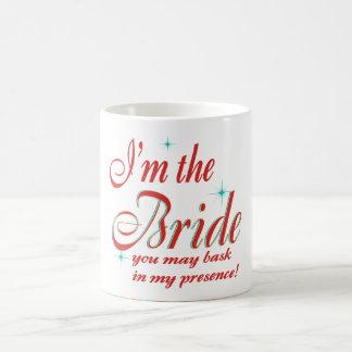 novia-tome el sol en presencia taza