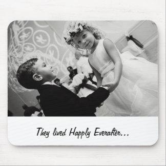 novia y novio del baile tapetes de ratones