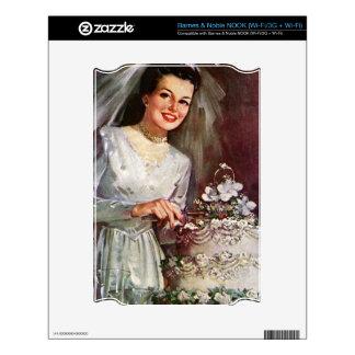 Novia y su pastel de bodas - los años 50 del vinta skins para elNOOK