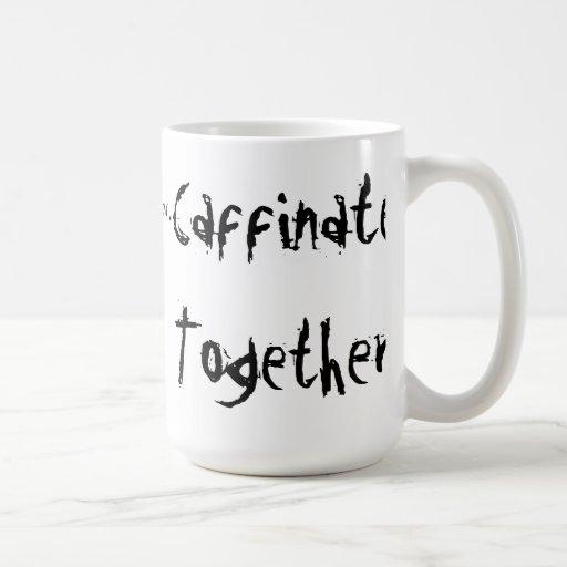 Novias Caffinate junto Taza De Café