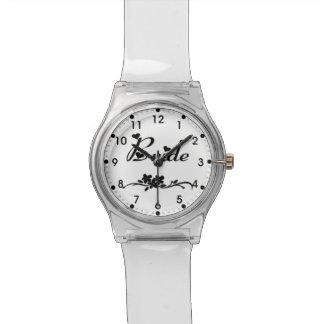 Novias clásicas relojes de pulsera