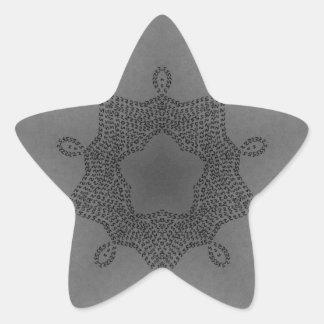 Noviembre de 2012 cinco pegatina en forma de estrella