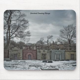 Noviembre Obscura, cementerio de Graceland Alfombrillas De Ratones