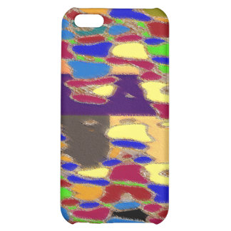 NOVINO Abstract Art Alien Galactic Show Pattern iPhone 5C Case