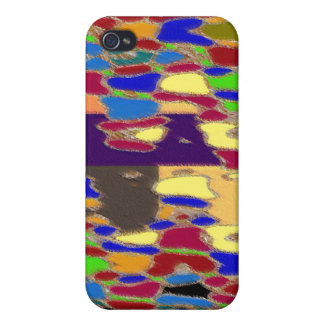 NOVINO Abstract Art Alien Galactic Show Pattern iPhone 4/4S Cases
