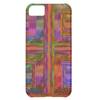 NOVINO Abstract suitable to add Text n Image iPhone 5C Case