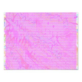 NOVINO Anns Purple Z Planet Dots 4.25x5.5 Paper Invitation Card