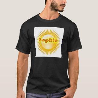 NOVINO Artistic Text T-Shirt