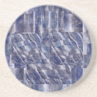 NOVINO Blue Sapphire Treasure Coaster