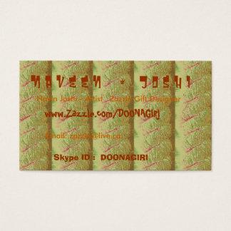 NOVINO Card Templates - Rich Golden Strips 2