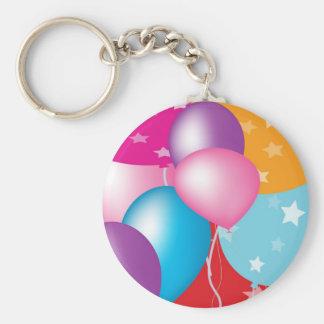 NOVINO Celeberations Baloons Llaveros Personalizados