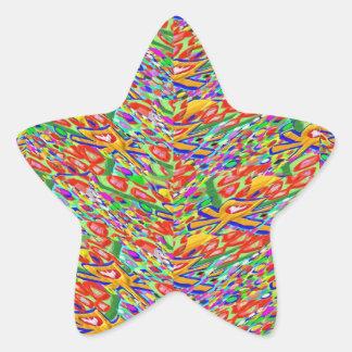 NOVINO - Colección cada vez mayor de los niños de Colcomanias Forma De Estrella Personalizadas