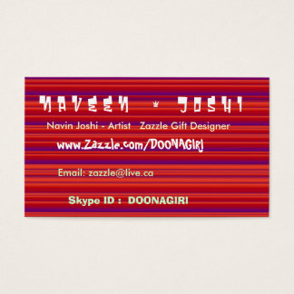 NOVINO Color Therapy - Energy n Dance Business Card
