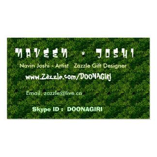 NOVINO Dense Green Gardens Business Card