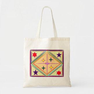 NOVINO Diamond n Stars : Healing Series Budget Tote Bag