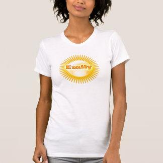 NOVINO Elegant Text T Shirts