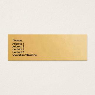 Novino Gold Mini Business Card