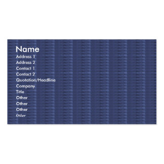 NOVINO Goodluck Blue Texture Unique Shades Art Double-Sided Standard Business Cards (Pack Of 100)