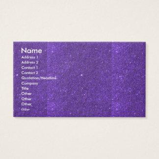 NOVINO Goodluck holy purple Unique Shades Texture Business Card