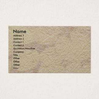 NOVINO - Handmade Paper look 2 Business Card