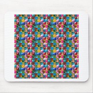 NOVINO Jewel Crystal Stones Healing Reiki Art GIFT Mouse Pad