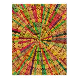 NOVINO KoolSHADES Chakra Mandala Designs HEALING Postcard